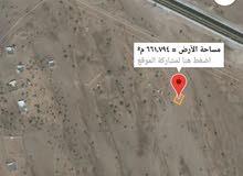 ارض من ذهب فالخط الاول على الخط السريع بدية /صور  وكورنر وقريبه من محطة نفط عمان