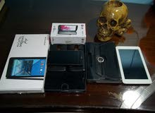 موبايل lg g3 stylus و تابلت alcatel one touch 7 للبيع