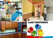 WE ARE DOING ALL TYPE OF PAINTING,GYPSUM PARTITIONS,CEILING CARPENTRY WORKS,TILE