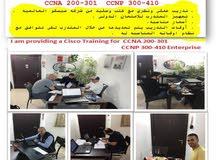 مهندس ومدرب مستعد لتدريب كورسات - CCNA CCNP Enterprise ( CISCO )