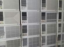 أجهزة كهربية مكيفات شباك مع التركيب والتوصيل حار بارد