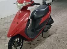 للبيع دراجه نارية دباب سوزوكي 50cc في دبي موديل 2014