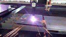 مطلوب مصمم ومشغل ماكينة CNC (كت لايزر) حديد