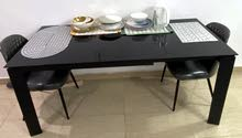 DINNING TABLE + 4 CHAIRS - URGENT SALE