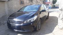 Black Kia Forte 2018 for sale