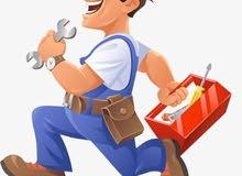 مطلوب عمال صيانة