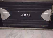 سستم كامل اربع سماعات وجهاز اكاي 1200 واط واوفر نظيفه