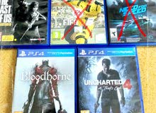 ps4 games for sale in best price all for 16bd only