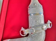 خنجر عمانية فضه بالكامل