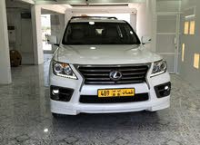 White Lexus LX 2015 for sale