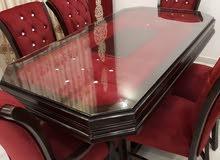 طاولة سفرة 8 كراسي تفصيل