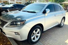 Lexus RX 350, Model 2015 in perfect condition, lady Doctor driven in Al Ain, Mileage 50000