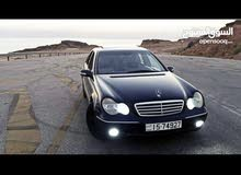 Blue Mercedes Benz C 180 2003 for sale