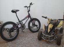 BMX + مطو أربع عجل