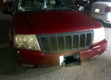 Automatic Red Jeep 2004 for sale