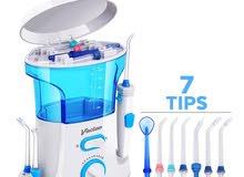 تنظيف الاسنان بالماء