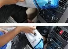 مكنسة كهربائية للسيارات لازالة التراب و فيها مميزات تانية كتير