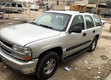 Silver Chevrolet Tahoe 2002 for sale