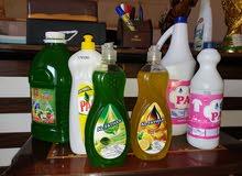 منتوجات معمل الفيحاء للمنظفات