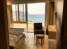 شاليه sea view للبيع بالعين السخنه ( 2 غرفة نوم + جاكوزي )