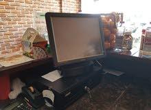كافتيريا مجهزة بالكامل تعمل البيع بداعي السفر