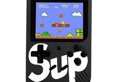 sup game box 400 in 1 games 3.0inch pocket handheld game console black