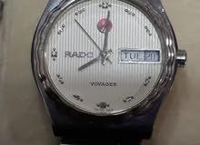 ساعة رادو اصلية نظيفة