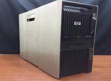 سنجل برسيسور(HP WORKSTATION Z600 XEON X5650 كاش 12 ميجا 6 كور رمات 16