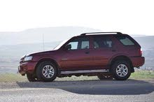Maroon Isuzu Rodeo 2004 for sale