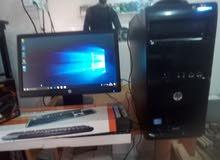 كمبيوتر مكتبي من شركة HP   بسعر التخفيض رمضان