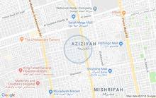 عمارة سكنية في العزيزية-شارع الصحافة شارع الأمير ماجد خلف مطعم عصيرات السلام