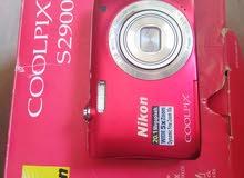 كاميرا نيكون شبه جديدة 20 ميغا بكسل