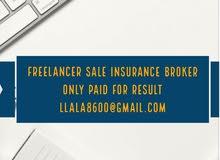 freelancer insurance Broker sale