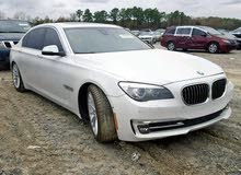 BMW 750 car for sale 2014 in Muscat city