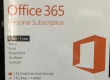 برنامج اوفيس 365 - إشتراك شخصي Office 365 - personal subscription