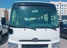 Toyota Coaster 25 passenger deasel