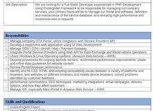 Senior PHP developer/ Programmer / Web Design and Development