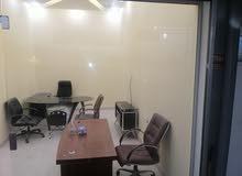 محل مفروش للأجار Furnished office for rent
