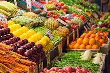 fresh fruits and vegitebes