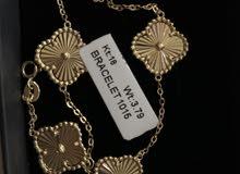 Vancleef 18k gold bracelet