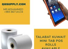 Talabat mini tab rolls in Kuwait