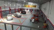 خبرة 9 سنوات في ادارة مراكز صيانة السيارات