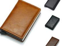 محفظة فخمة مناسبة للجنسين بألوان مختلفة