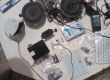 مجموعة قطع إليكترونية و كهربائية للبيع
