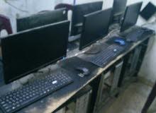 أجهزة شبكة للبيع 6 أجهزة كاملة وبحالة ممتازة 0932797488 مع طاولتهن ووصلاتن كيبورد وماوس جدد