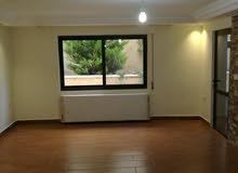 شقة فارغة للايجار مع حديقة لم تسكن 190م خلدا 5000د