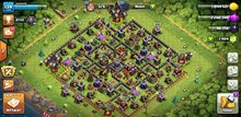 Clash Of Clans Town 10 Max!!