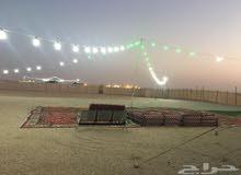 مخيم للبيع أو التنازل  قريب من الرياض