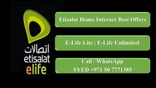 Etisalat Home Internet Best Offers