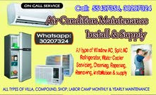 AC Installation, Cleaning,  Maintenance & Supply